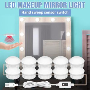 Vanity Lights 12V Makeup Mirror Light Bulb LED Fill Lamp 8W 12W 16W 20W Hollywood Hand Sweep Sensor Cosmetic