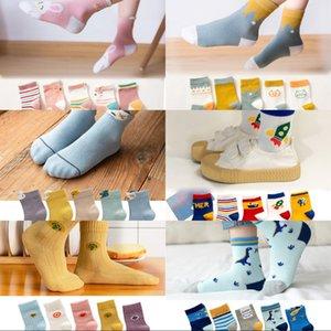 5Pairs lot Baby Socks Autumn Winter Warm Cotton Kids Socks Cute Girls Cartoon Animal Boys Infant Socks Baby Clothes Accessories 983 X2