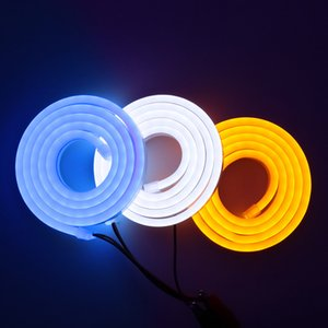 3pcs lot Super Bright Neon Sign Strip LED Light 120LEDs m 12V Flexible strips 2835 Waterproof Rope Lights Outdoor Home Decoration