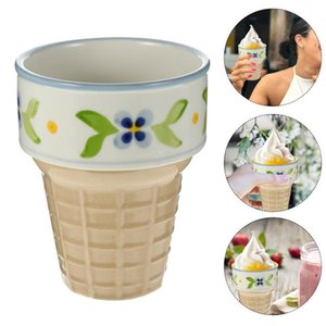 Bowls 1 Pc Wear-resistant Drink Cup Multipurpose Oatmeal Ice Cream Dessert