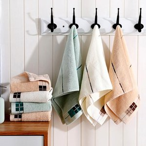 Towel Super Absorbent Soft Washcloth The Bath Pure Cotton Siege Back Word Bath Towel Face Washers Hand Cloth Towels