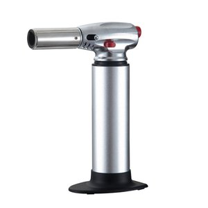 Spray Flame Lighter Chef Cooking Refillable Adjustable Spray Gun Barbecue Ignition Cigarette Lighter Portable Picnic Kitchen Tools BH1897 CY