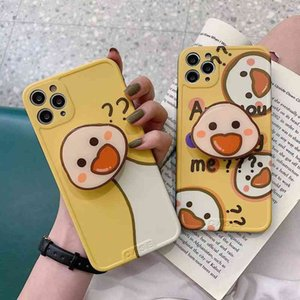 Duck Stand for Cute 11pro Max Apple x Xs Xr   Se Case Iphone 12 Female 8plus