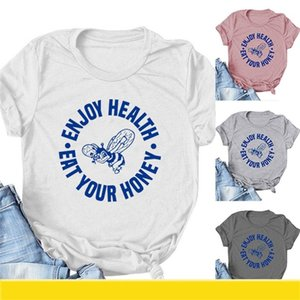 Harry Styles T-Shirt Enjoy Health Eat Your Honey Shirt One Direction 10 Year Anniversary Tee Cute Bee aesthetic Graphic Tee 1100 Y2