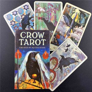 with High Quality Crow Family Holiday Party Playing Cards Deck Tarot Card Board Games