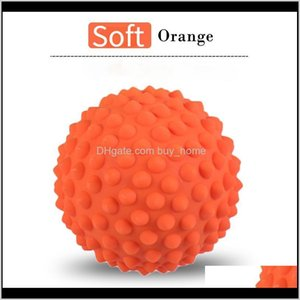 Grippers Equipments Supplies Sports & Outdoors1 Pcs 9Cm Hand Grip Strengthener Mas Spike Fascia Ball Yoga Fitness Muscle Relaxation Hard Soft