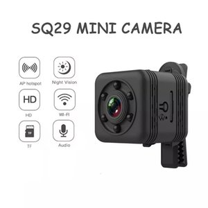 SQ29 Mini IP Camera HD WiFi Safety Night Vision Waterproof Video Camcorder DVR Magnetic Suction Cameras Aerial Photography Cam