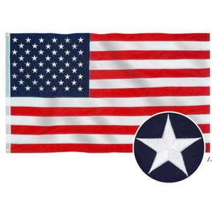 American Stars and Stripes Flags USA Presidential Campaign Banner Flag for President Campaign Banner 90*150cm Garden Flags AHB6211