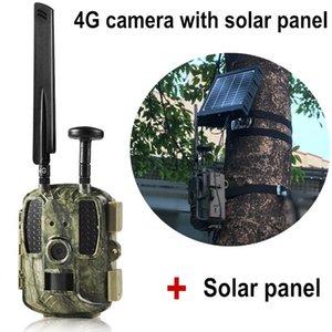 Câmaras de caça Wildlife Camera Trap PO 4G Trail Trail Armadilhas Email MMS GPS Lapso de tempo com visão noturna