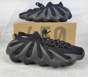 450 cloud white triple triple nera maglieria scarpe cenere blu dissolvenza V2 israfil uomo statico donne riflettente da corsa sneakers con scatola