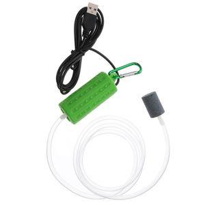 Air Pumps & Accessories USB Pump Aerator Silent Portable Mini For Fishing Home Fish Tank
