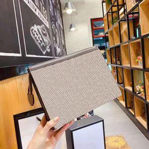 2021 تصميم حقيبة مخلب العلامة التجارية للجنسين الأزياء سعة كبيرة محفظة الأعمال بو جودة عالية حامل بطاقة سحاب