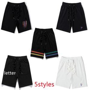Men Shorts Summer Fashion Casual Letter Classic Pants Mens Comfort Sport-shorts Men Knee Length Shorts 5styles Running Fitness Street Pant