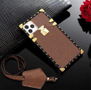 Luxurys designers women Oblique span cell phone cases iphone 7p 8p x xs xr xsmax 11 11pro 11promax 12 mini 12pro 13 pro max fashion PU Leather case Cover