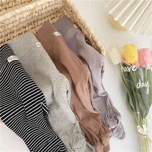 Spring Autumn baby boys girls warm high waist panty-hose 0-2 years pure cotton all-match leggings 210708