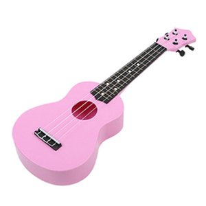 21 Inch Colorful Acoustic Ukulele 4 Strings Small Guitar Children Instrument H8WC