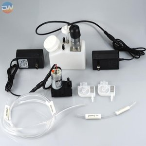 Ink Cartridges White Recycle System Tank With Motor Filter Connector Tube Damper L1800 Printer Modify Machine 250ml