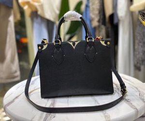 Frauen Luxurys Designer Handtaschen M45779 Damen Tote Shopping Taschen Handtasche Mode Onthego PM Classic Brief Geldbörse