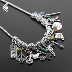 The Choker Necklace Bow And Arrow Crystal Beads Charm Necklaces & Pendants For Women Birthday Gift Chokers