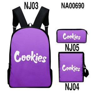 C-OKIES Cigar Backpack Backwood Print Bag Laptop Shoulder School Travel Bags For Boys Men 11 Colors Dhl