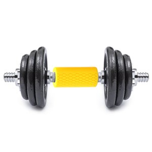 Gym Bar Grips - fit Standard Barbell, Dumbell Handles, Bicep, Pull Up Body Arm Forearm Builder Strength for WeightLifting Fitness Training