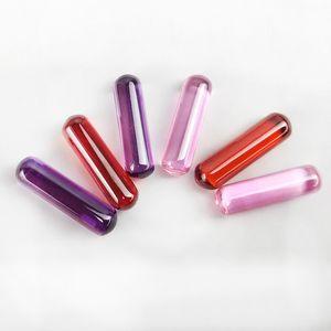 Ruby Insert for Smoking Quartz Terp Slurper Banger Purple Red Pink 5mm 18mm Cylinder Inserts Dancing