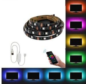 USB LED Strip Tuya Smart Wifi 1M 2M 5M DC 5V RGB 5050 SMD Flexible Light Decor Screen DC5V TV Background Lights