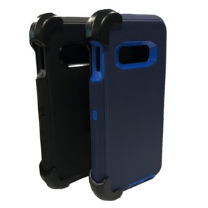 Hybrid Robot 3 In 1 Heavy Duty Military Grade Shockproof Waterproof Defender Case With Clip Holster For iPhone 12 11 XR X Xs Max 6 7 8 Plus