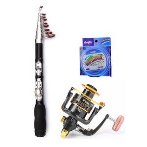 Boat Fishing Rods Portable Mini Ultra Short Sea Rod Spinning Reel Line Combo Set Pole Tackle Kit