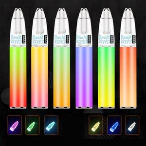 Original R and M Dazzle 5000 Disposable E cigarette 5000puffs RandM Vape Pen 14 Colors