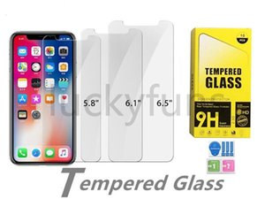 iPhone 12 12promax 12mini 11promax 11 11pro xr xs x 6 7 8 플러스에 대한 0.3mm 2.5D 9H 강화 유리 화면 보호기