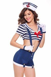 Sexy Sailor Cosplay Navy Underwear Costume Women Role Playing Uniform Temptation