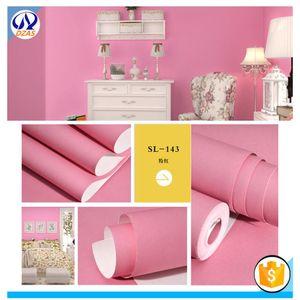 Wallpapers 2021 Modern Minimalist Pink-yellow Bedroom Living Room Children's Full Of TV Background DZAS-YCY Wallpaper