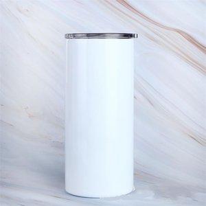 20 أوسل بروتين فارغة التسامي أكواب القهوة سليم مع غطاء والبلاستيك القش البيرة القدح 927 z2