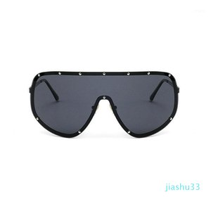 MINCL 2021Oversized XXL Huge Large Shield Wrap Womens Polarized Sunglasses Men and women fashion unique sunglasses FML1