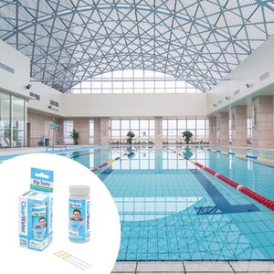 Meters 3-In-1 Swimming Pool PH Test Paper Total Alkalinity Hardness Tub Water Quality Cleaner