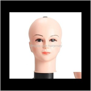 Heads Care & Styling Tools Hair Products Drop Delivery 2021 Real Female Mannequin Head Model Wig Hat Jewelry Display Cosmetology Hairdressing