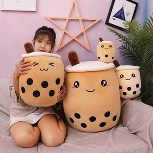 Pearl milk tea cup Plush Doll Toys 24cm 9.45 inches Simulation Stuffed Animals Pillow Cute appease Relief Stress toy Z2718