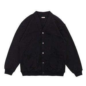 Мужские свитера Kapital Mounte Multi Color вязаный кардиган Простая базовая мягкая улыбка Печать с длинным рукавом Свитер