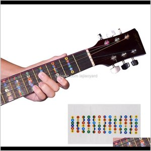 Outdoor Games Activities Guitar Fretboard Notes Map Labels Sticker Fingerboard Fret Decals For 6 String Acoustic Electric Guitarra Ny0 Odxrd