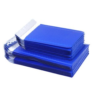 Packing Bags 10pcs Small Poly Bubble Mailer Blue Self Seal Padded Envelopes Mailing
