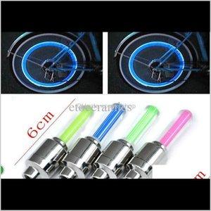 Led Lights For Bike Tyre Vae Stem Cap Flash Wheel Car Motorcycle Oscnp Jhe06