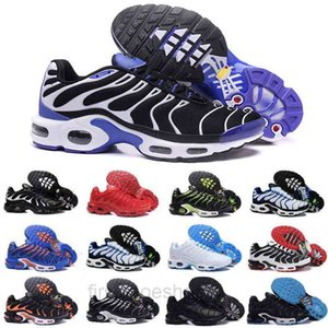 Mens Tn Plus Casual Shoes Worldwide Triple Black White Rainbow Blue Sneakers Male Outdoor Trainers Size 40-46 FG6P