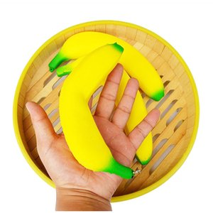 18cm Banana Squishy Imitation Fidget Toy Phone Strap Squishies Squeeze Gift Fragrance Scented Jumbo Lively Decoration