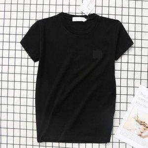 2021 New Summer Fashion T Shirts Tshirt Clothing Men Tops Luxury Letter Women Shirt Mens Embroidery For Short Sleeved Designer Te Mvpmh