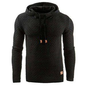 Cousssuit AW21 Мужской Жаккардовый свитер с длинным рукавом Hoodie Теплый цвет Hoodie Paind