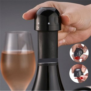 Kitchen Bar Tools Mini Sealed Wine Stopper Leakproof Bubble Champagne Cork Rotatable Keep Fresh Wines Bottle Corks