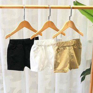 Summer Fashion Shorts For Boys Girls Casual Kids Baby Boy Short Pants Pure Color Pockets Beach Sports P20