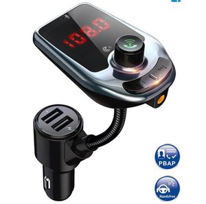 D4 D5 Wireless Bluetooth car MP3 Player Fast USB Charger Audio Music Receiver Hands Free Bluetooth Car Kit Bluetooth Multipoint Speaker