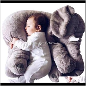 Pillows Nursery Bedding Baby, & Maternity Drop Delivery 2021 Large Plush Elephant Baby Aompany Soft Calm Kids Cushion Stuffed Pillow Animal D
